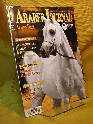 Araber Journal. Arabian Horse Europe. Heft 1