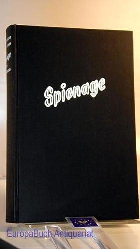 Spionage in Deutschland. J. H. Edgar ; R. J. Armin: Edgar, Jahn Hans und R. Armin: