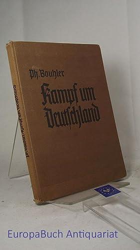 kampf um deutschland ein lesebuch f r die deutsche jugend. Black Bedroom Furniture Sets. Home Design Ideas