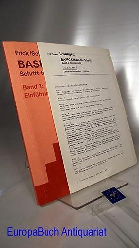 BASIC Schritt für Schritt Band 1 : Frick, Hans-Adolf und