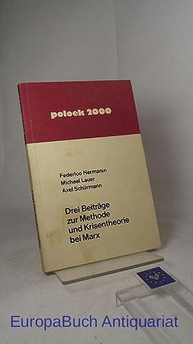 Drei Beiträge zur Methode und Krisentheorie bei: Hermanin, Federico, Michael