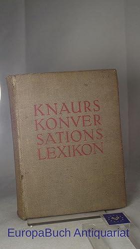 Knaurs Konversations-Lexikon : A-Z ; 37000 Stichwörter-