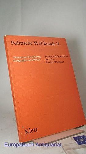 Politische Weltkunde I. Teil 2, Herrschaft und: Rohlfes, Joachim (Herausgeber),