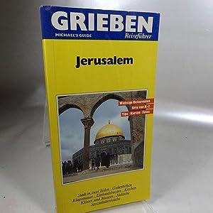 Jerusalem : Grieben-Reiseführer : Michael's guide Wichtige: Wahrman, Dror: