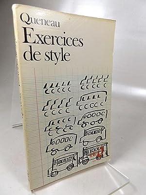 exercices de style de queneau raymond - AbeBooks