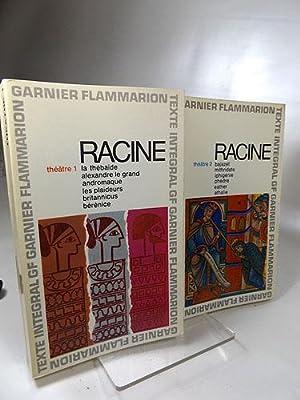 Theatre Complet 1+2 (Konvolut 2 Bücher) Garnier-Flammarion 27+37,: Racine, Jean: