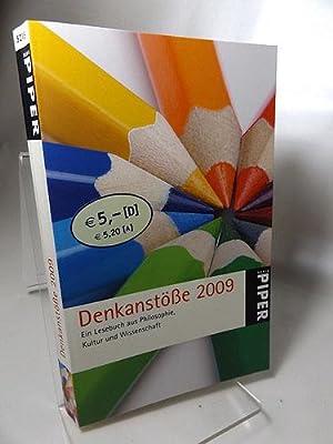 Denkanstöße 2009: Ein Lesebuch aus Philosophie, Kultur: Göttermann, Lilo (Herausgeberin):