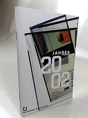 Jahresprogramm Bielefelder Kunstverein 2002 Ausstellung Kunst und: Frepoli, Isolde und