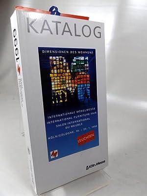 Katalog Internationale Möbelmesse 1999 : Dimensionen des