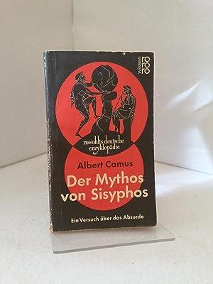Der Mythos von Sisyphos : ein Versuch: Camus, Albert: