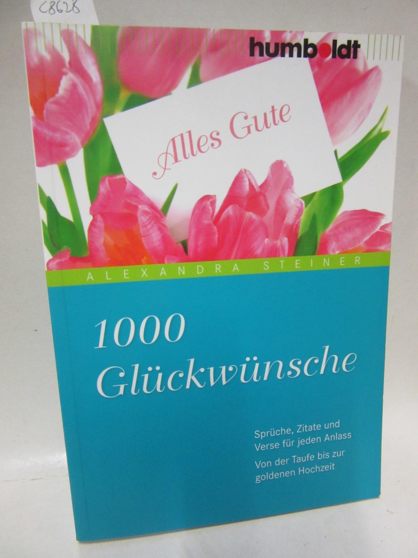 9783869100159 1000 Gluckwunsche Spruche Zitate Und Verse Fur