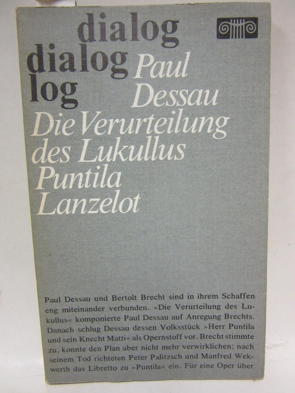 Opern. Herausgegeben von Fritz Hennenberg.: Dessau, Paul: