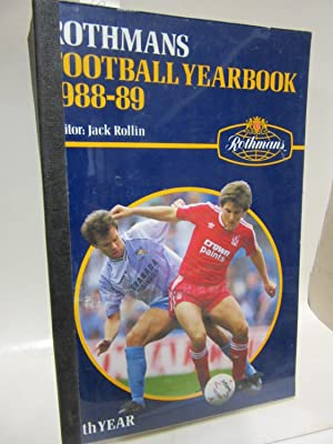 Rothmans Football Yearbook 1988-89. Editor: Jack Rollin.