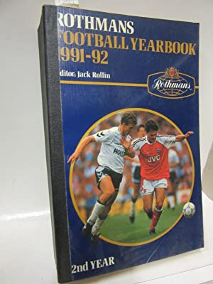 Rothmans Football Yearbook 1991-92. Editor: Jack Rollin.