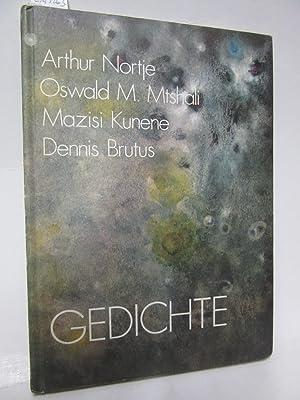 Gedichte. Herausgegeben und mit einem Nachwort von: Nortje, Arthur/ Mtshali,