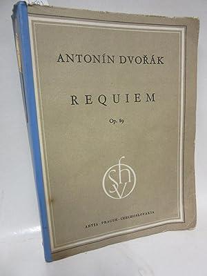 Antonin Dvorak. Requiem op.89. Mit einem Vorwort