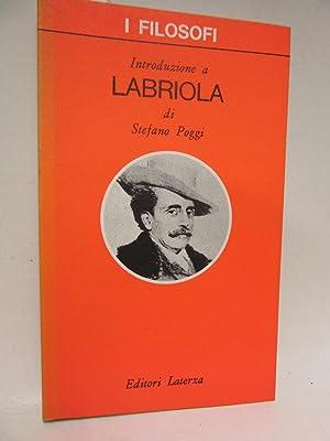Introduzione a Labriola.: Poggi, Stefano: