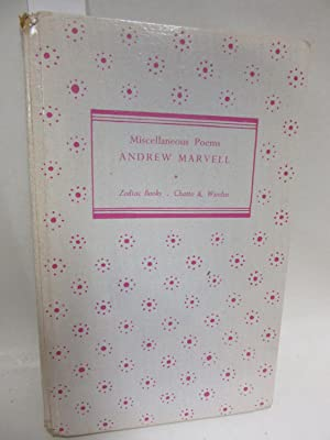 Miscellaneous Poems.: Marvell, Andrew:
