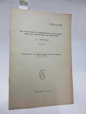 Das Vorkommen von Rippelmarken im Devonsandsteine des: Prelipcean, J.:
