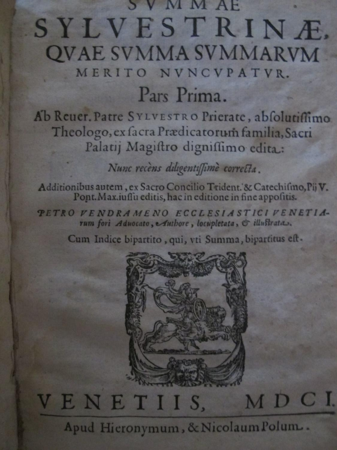 viaLibri ~ (1264578).....Rare Books from 1601