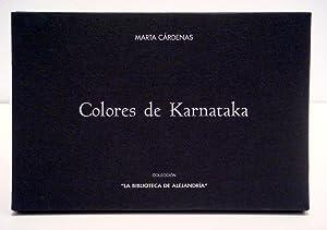 COLORES DE KARNATAKA: MARTA CARDENAS