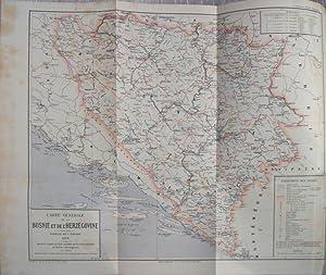 A TRAVERS LA BOSNIE ET L' HERZEGOVINE ETUDES ET IMPRESSIONS DE VOYAGE: CAPUS Guillaume