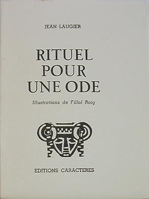 Rituel Pour Une Ode: JEAN LAUGIER / FILLOL ROIG