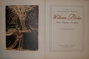 William Blake Poet Printer Prophet: Geoffrey KEYNES