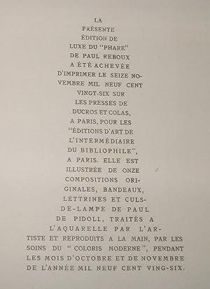 Le Phare: Paul REBOUX