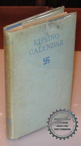 Kipling Calendar.: Rudyard Kipling.