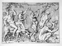 ROMANUM MUSEUM SIVE THESAURUS ERUDITAE ANTIQUITATIS. Roma,: CAUSEUS Michaelis Angeli