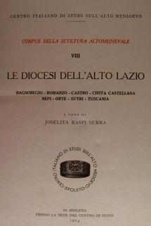 Centro Italiano di Studi sull'Alto Medioevo. Spoleto.: RASPI SERRA J.