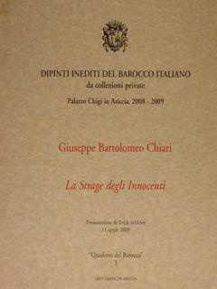 Dipinti del barocco italiano da collezione private.: Schleier Erich