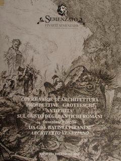 Opere varie di Architettura Prospettive Grotteschi Antichità