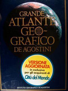Grande Atlante Geografico De Agostini 1982 -