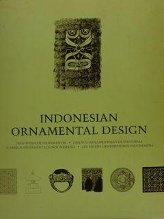INDONESIAN ORNAMENTAL DESIGN. Indonesische Ornamentik - Disenos