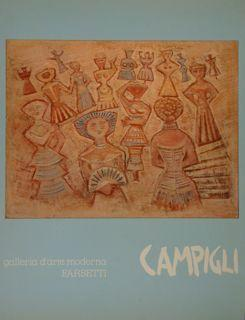 Campigli Massimo. Cortina d'Ampezzo, 8-25 agosto 1981.: Pacini Piero