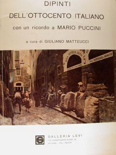 Dipinti dell'Ottocento italiano con un ricordo a: AA.VV.