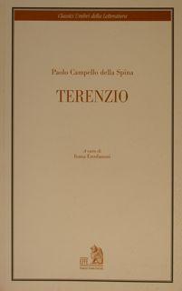 Classici Umbri della Letteratura. TERENZIO.: PAOLO CAMPELLO DELLA