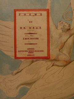 POEMS by MR. GRAY. William Blake's Water-Colour: KEYNES KT GEOFFREY