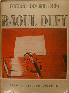 RAOUL DUFY.: COURTHION PIERRE