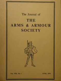 The Journal of The Arms & Armour Society. Vol.VIII, n.1 . June, 1974.