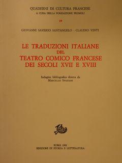 Edizioni di Storia e Letteratura. Quaderni di: SANT'ANGELO G.S., VINTI
