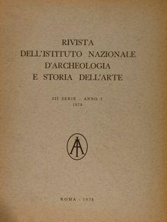 RIVISTA DELL'ISTITUTO NAZIONALE D'ARCHEOLOGIA E STORIA DELL'ARTE.