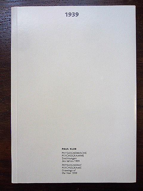 1939 Physiognomische Psychogramme. Zeichnungen des Jahres 1939.: Klee, Paul