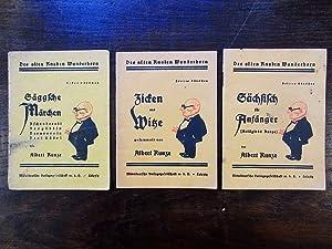 Säggsche Märchen (Aschenbreedel. Rodgäbbjn. Dornreesjn. Drei Rädsl.): Kunze, Albert