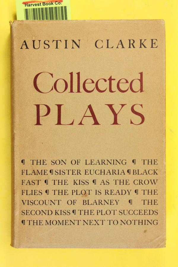 Collected Plays: Clarke, Austin