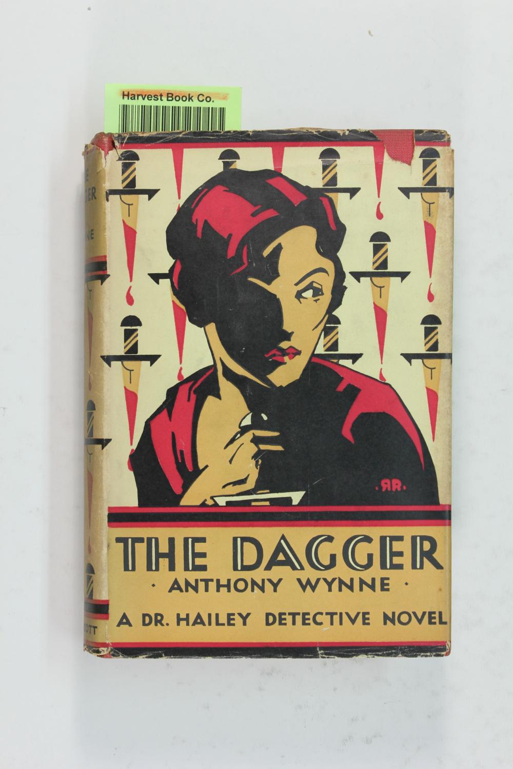 The Dagger (A Dr. Hailey detective novel): Wynne, Anthony