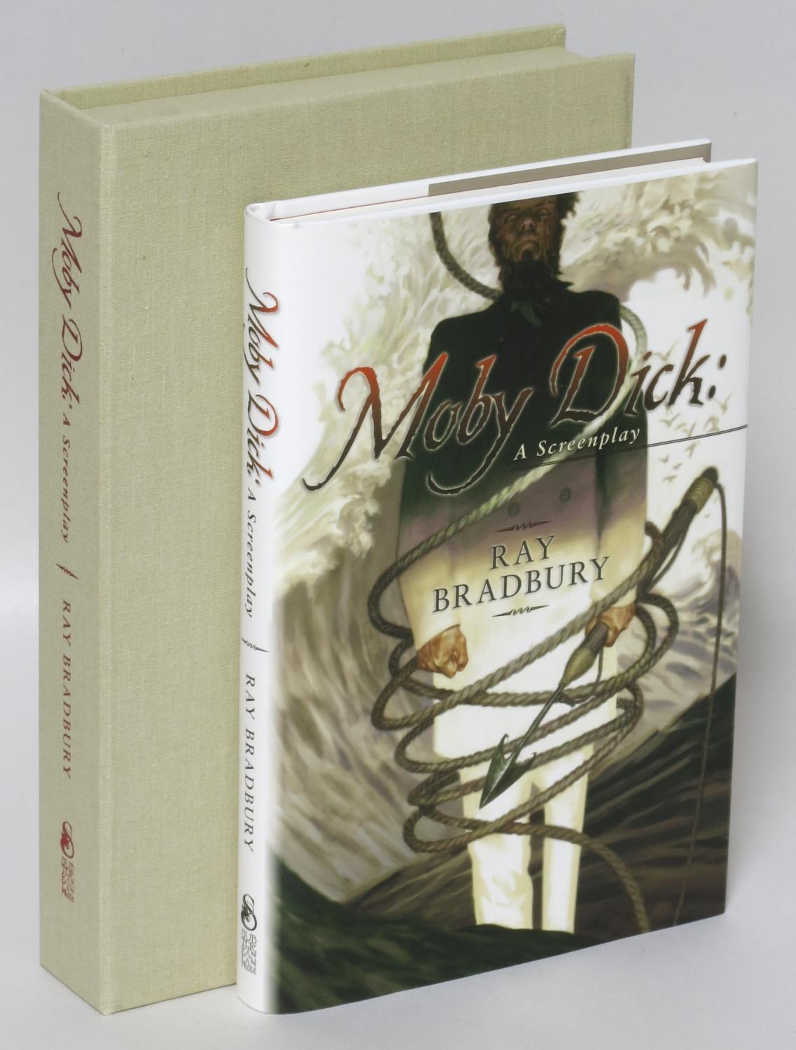Moby Dick: A Screenplay [Lettered Issue] Bradbury, Ray Fine Hardcover