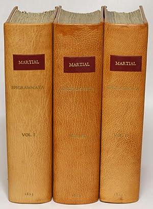 [Martial's Epigrams, in Latin] Marci Valerii Martialis Epigrammata Ex Editione Bipontina cum ...